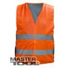 Жилет со светоотражающей лентой оранжевый, Арт.: 83-0002